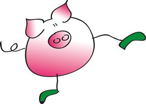 Viecherl-Schwein-Grafik