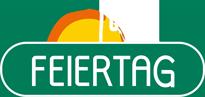 Feiertag-Logo weiß