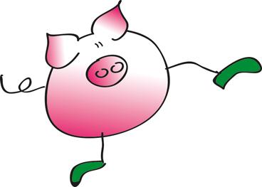 Schwein-Grafik