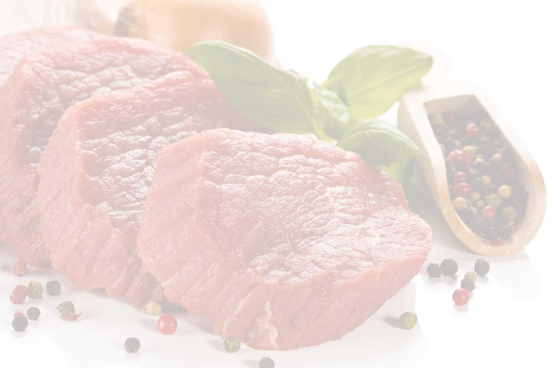 Frisches Fleisch von Feiertag