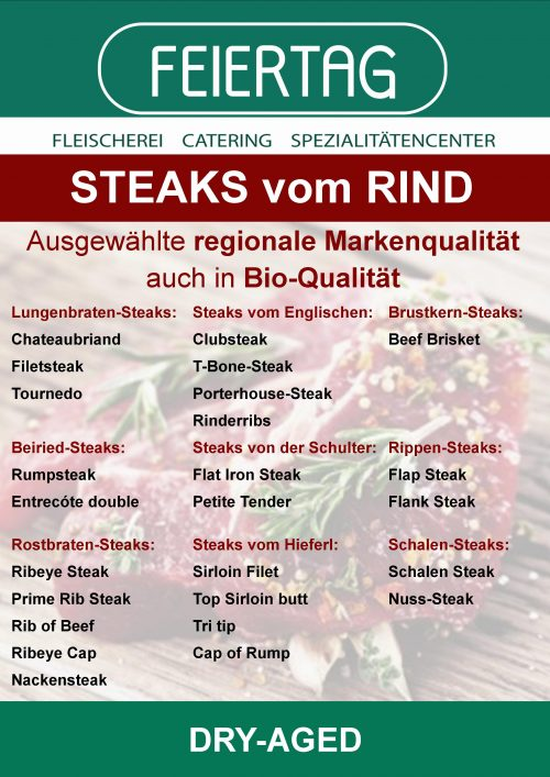 Steaks vom Rind_Homepage